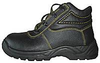 Ботинки юфтевые с мягкой вставкой