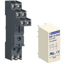 Ромежуточные (электромеханические) съемные интерфейсные реле Zelio Relay RSB от Schneider Electric н
