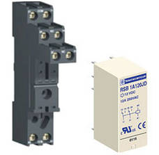 Ромежуточные (електромеханічні) знімні інтерфейсні реле Zelio Relay RSB від Schneider Electric н