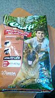 Корм сухой для взрослых собак (крокеты) GHEDA, 10 кг, Италия