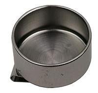 Масленка одинарная d:4см, металл, №11014