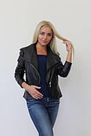 Куртка женская черная 16004