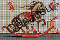 Схема для вышивки бисером «Лошадка-качалка»