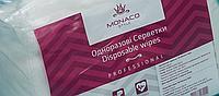 Салфетки одноразовые нарезанные (вискоза) Monaco Style 30 х 50, 50 шт, пл 45 гладкие