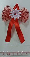Свадебные цветы для гостей (цвет - красный) Ц-г-5-красн