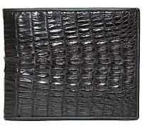 Мужской кошелёк из кожи крокодила (ALM 7T Black), фото 1