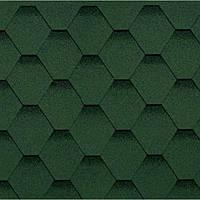 Битумная черепица SHINGLAS (Шинглас) «Кадриль»  Нефрит (зеленый)