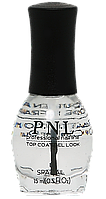 Верхнее покрытие для лака с 3D эффектом 15 мл №401 PNL Top Coat GEL LOOK