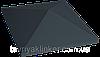 Клинкерная крышка на забор KingKlinker Полярная ночь (08) 310х310х80мм