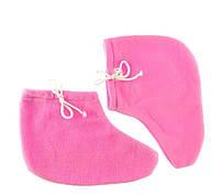 Носочки махровый-флис (пара) для парафинотерапии