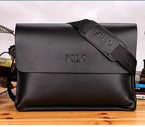 Сумка Polo мужская для документов черная