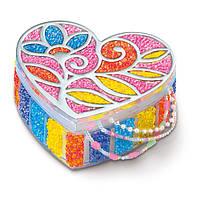 Шкатулочка для украшений из бисера. 4М Набор для творчества