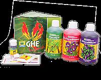 GHE Tripack Flora Series SW Комплект миниральных удобрений