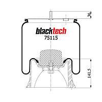 Пневмоподушка SAF RML75115CP (BLACKTECH)