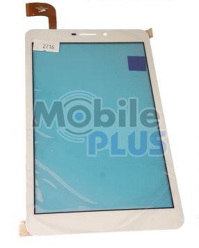 Сенсорный экран (тачскрин) для планшета 7 дюймов Nomi c070010 Corsa 3G (Model: PB70PGJ3535) White