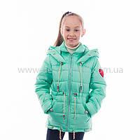 """Детская  куртка  демисезонная для девочки """"Кира"""" с капюшоном,новинка 2017года"""