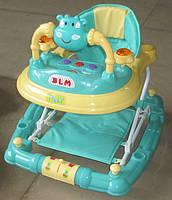 Ходунки-качалка TILLY T-441 GREEN, ходунки для малышей