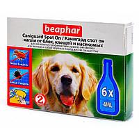 Капли Beaphar Caniguard Spot On от блох и клещей для собак крупных пород №6