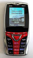 """Мобильный телефон Donod DX9 (2Sim) 1,8"""" 0,3 Мп black-red черно-красный Гарантия!"""