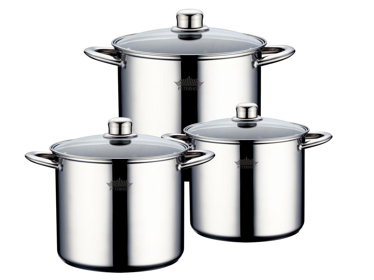 Набор посуды 6 предметов Peterhof PH-15824