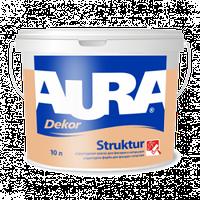 """Aura Dekor Struktur """"Структурная краска для фасадов и интерьеров"""" 10л"""