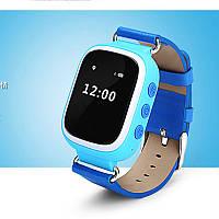 Smart Baby Watch Q60 c GPS трекером Есть 3 цвета! Синий