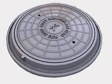 Люк чугунный «Дачный»  (40 кг) (Ø кр. 605; осн. 705, h-70) , фото 2