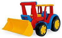 Большой игрушечный трактор Гигант с ковшом  Арт: 66000