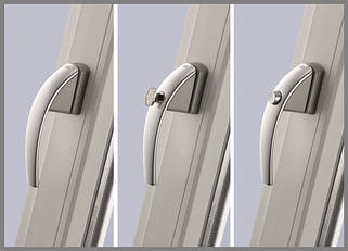 Ручки оконные и дверные для металлопластика.