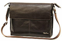 Кожаная мужская сумка Tom Stone L508 коричневая