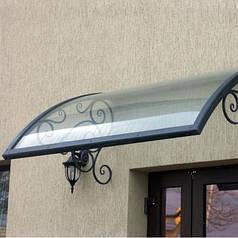 Монолитный поликарбонат  Bauglas 2мм прозрачный, 2.05*3.05м