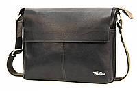 Кожаная мужская сумка через плечо Tom Stone L508
