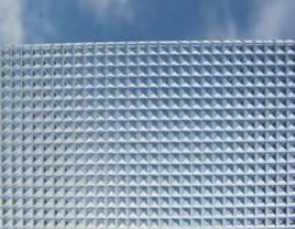 Монолитный поликарбонат  Bauglas 2мм полупрозрачный  призма, 2.05*3.05м, фото 3