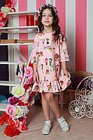 Милое детское платье с принтом