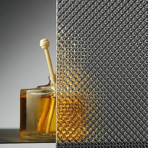 Монолитный поликарбонат  Bauglas 2мм полупрозрачный  призма, 2.05*3.05м, фото 2