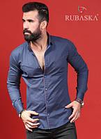 Молодежная мужская рубашка высокого качества от производителя