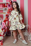 Нежное детское платье красивого фасона