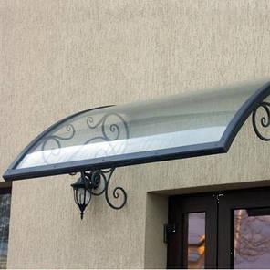 Монолитный поликарбонат  Bauglas 3мм прозрачный,  порезка 2.05*1м, фото 2