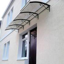 Монолитный поликарбонат  Bauglas 3мм прозрачный,  порезка 2.05*1м, фото 3