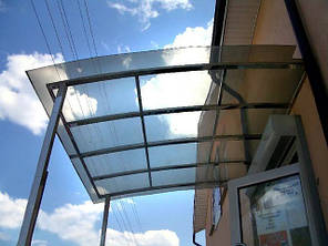 Монолитный поликарбонат  Bauglas3мм бронза, 2.05*6.10м, фото 2