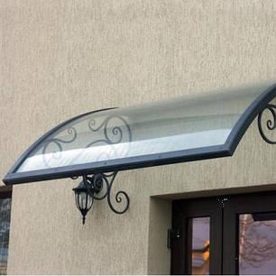 Монолитный поликарбонат  Bauglas 4мм бронза,  порезка 2.05*1м, фото 2