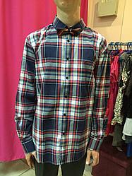 Рубашка в клетку мужская Jack&Jones