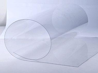 Ультратонкий монолитный поликарбонат  Borrex 0.6мм прозрачный, 2.05*1.25м