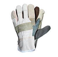Перчатки рабочие кожаные Rbk размер 10