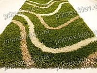 Ковер Shaggy Road2, цвет зелено-бежевый