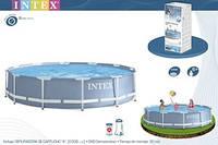 Бассейн каркасный + фильтр-насос 366х76см Intex 28712/28212, фото 1