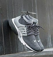"Nike Air Presto Ultra Flyknit ""Dark Grey/Wolf Grey""​"