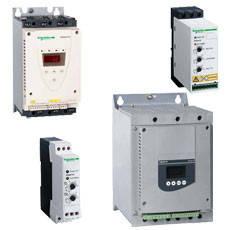 Устройства плавного пуска и торможения (УПП) Schneider Electric Altistart серии ATS