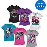 Футболки Monster High для девочек, фото 1