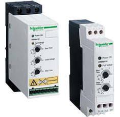 Устройства плавного пуска(УПП) и торможения Altistart 01 ATS01/ATS-01 от Schneider Electric на токи